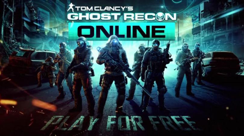 Trailer och betalänk till Ghost Recon Online