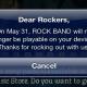 Rockband till iOS upphör maj 31