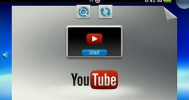 Youtube tillgängligt för Vita