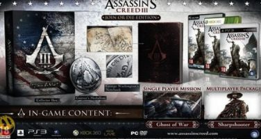 Innehållet i Assassin's Creed III – Join or Die Edition