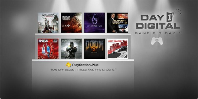 """PS3:s nya tjänst """"Day 1 Digital"""" kommer släppa spel online på releasedagen"""