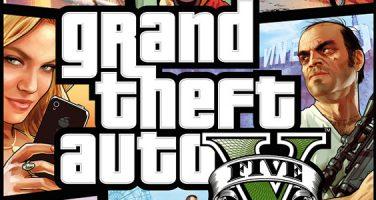 Här är omslaget till GTA V