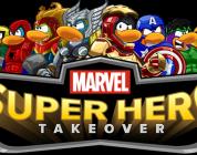 Marvel möter Disneys Club Penguin