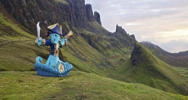 Skotska ön Skye tvinnas samman med Skylands