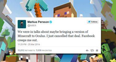 Inget Minecraft till Oculus Rift