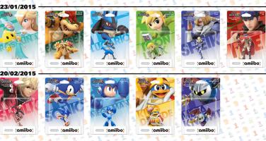 Nintendo släpper fler amiibo-figurer