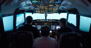 Varvat flyger Boeing 737-simulator