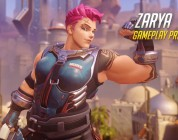 Overwatch gameplay – Zarya
