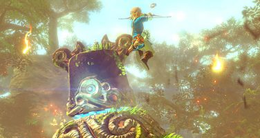 Spelsekvenser från Zelda: Breath of the Wild i ny trailer