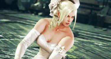 Nina Williams drar på sig bröllopsklänningen i Tekken 7