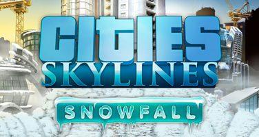 Nu faller snön i Cities: Skylines