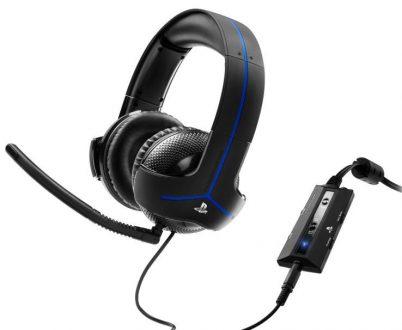 Thrustmaster levererar ett snyggt och bekvämt headset.