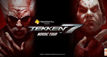 Tekken 7 åker på nordenturné