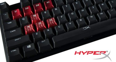 HyperX släpper röda och bruna Cherry MX switchar till sina mekaniska tangentbord