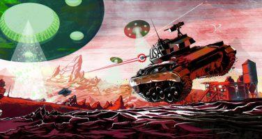 Mars är snart under attack