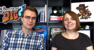 Döp en robot: Steamworld Dig 2 låter dig tävla