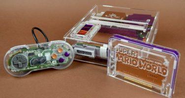 Genomskinliga SNES-konsoler om Reddit får bestämma