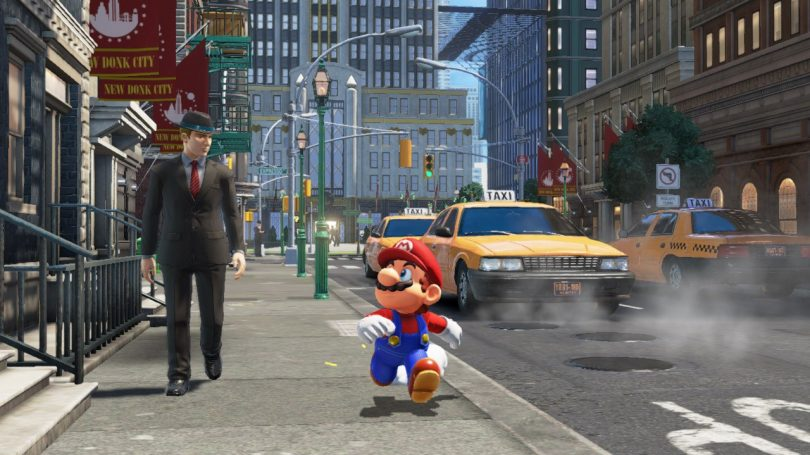 Spela Super Mario Odyssey på Comic Con i september