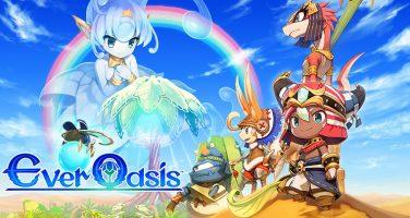 Upptäck en spännande ökenvärld i Ever Oasis till 3DS