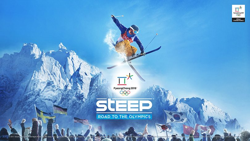 Fartfylld trailer för Steep Road to the Olympics