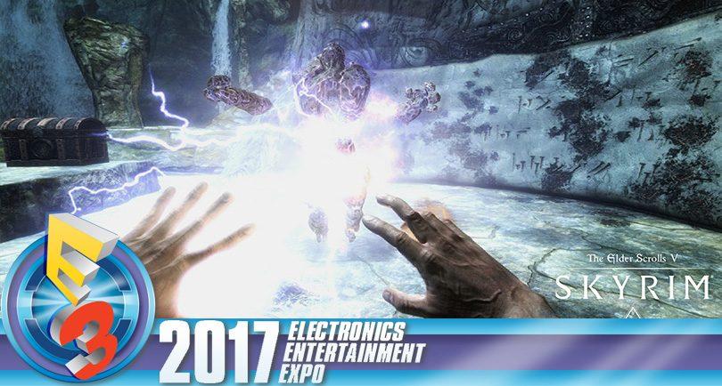 Skyrim, Doom och Fallout 4 blir VR-spel i höst