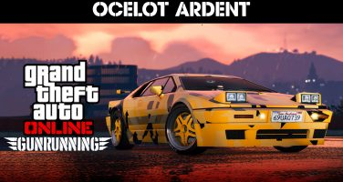 Ocelot Ardent rullar in i Grand Theft Auto Online
