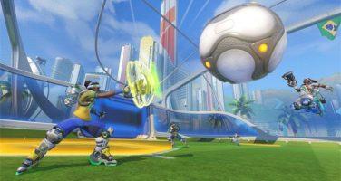 Overwatch – Reor och Lucioball i Summer Games