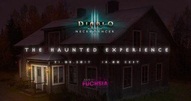 AnnieFuschia får kanalisera sin inre Necromancer i The Haunted Experience