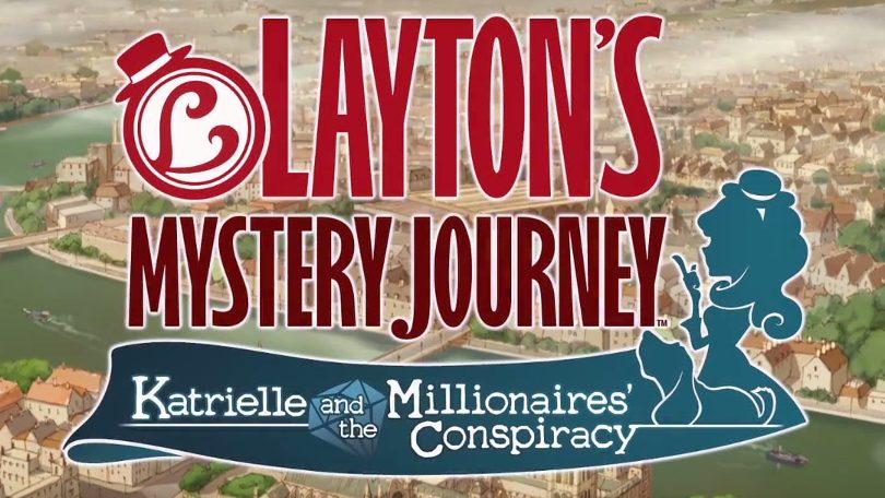 Detta datumet släpps Katrielle and the Millionaires' Conspiracy till 3DS
