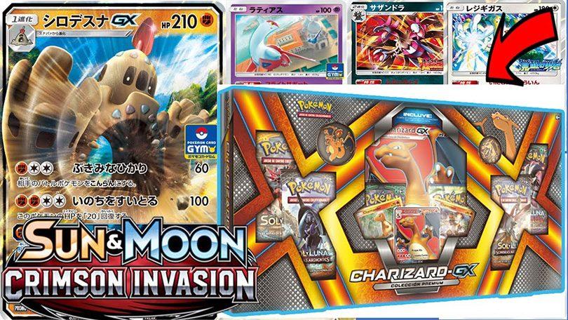 Pokémon-expansionen Sun & Moon – Crimson Invasion släpps 3 november
