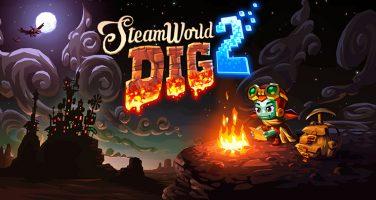 Lanseringstrailer för Steamworld Dig 2