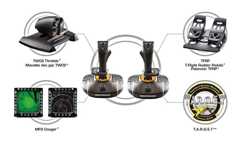 Thrustmasters senaste påhitt –  en joystick i varje hand