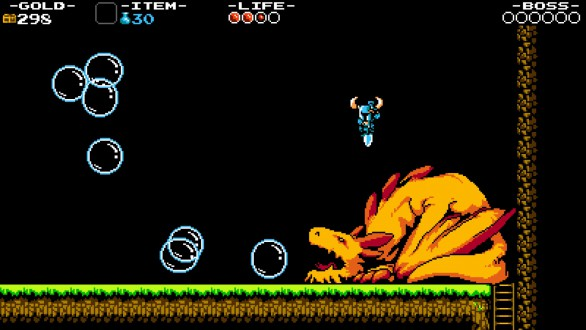 shovel knight dragon