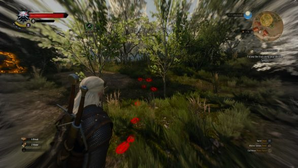 Till skillnad från det meningslösa missbruket av Batmans visir i Arkham-spelen, blir Geralts supersinne mer än en gimmick.