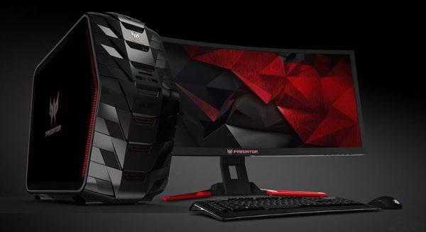 Tillsammans med Predator-skärmen har du allt du kan önska dig av en fullutrustad spelrigg.