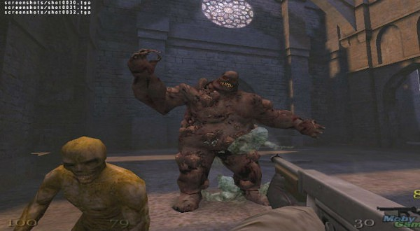 En av spelets få bossar. Löjeväckande idag men läskig då.