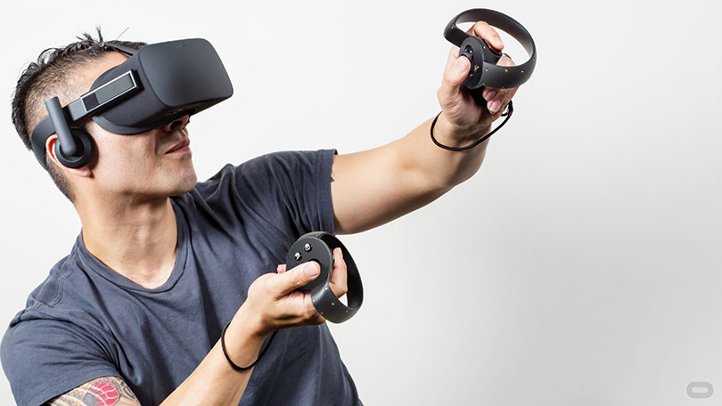 Oculus Rift med Controller
