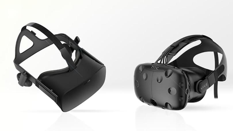 Oculus Rift och HTC Vive