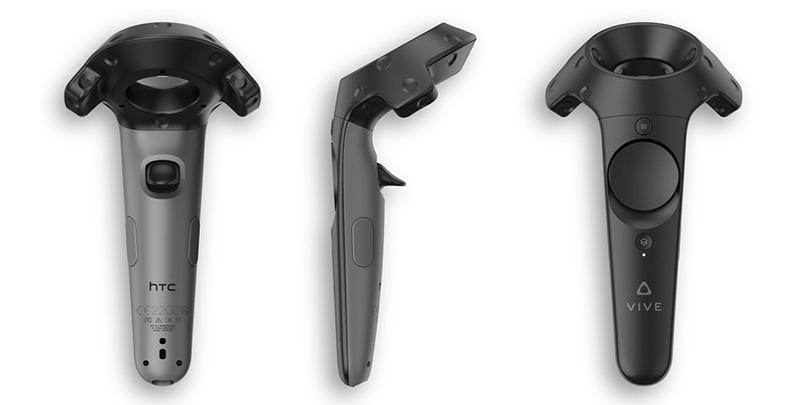 Handkontroller för HTC Vive