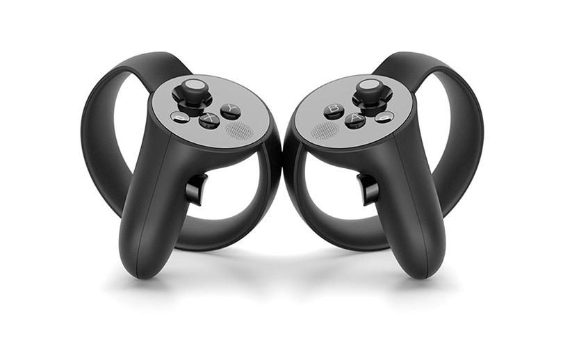 Handkontroller för Oculus Rift