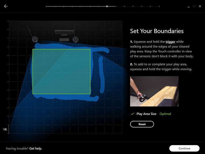 Room Scaling med Oculus Rift