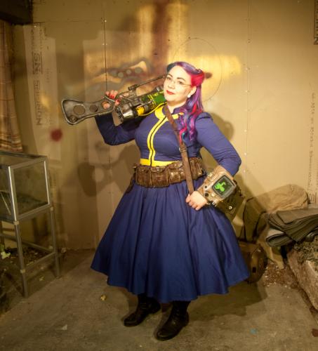 Grym cosplay att peppa dig inför postapokalypsen