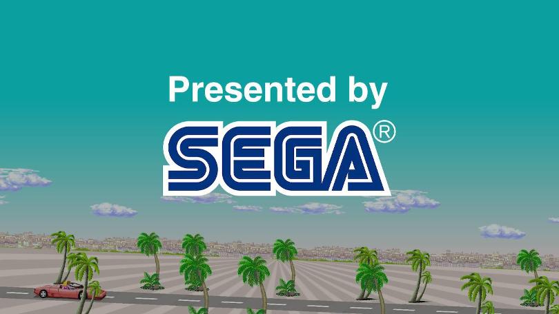 Presenterat av SEGA.
