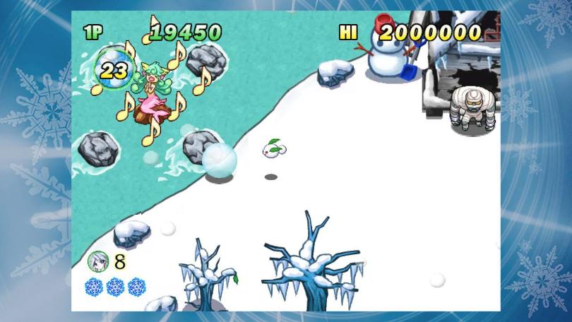 Sayuki kan rulla ihop sig till en snöboll. Vad vore hon annars för en snögudinna?