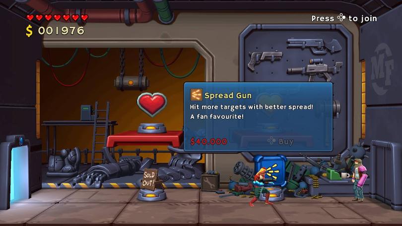 En fanfavorit till salu: Spread Gun.