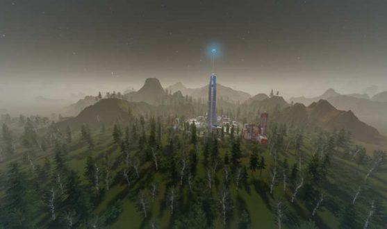 Mars har fått en grön tallskog.