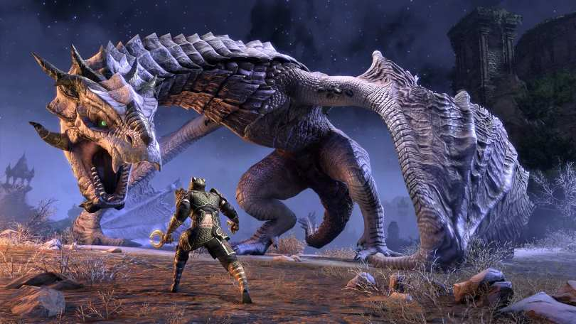 the elder scrolls online elsweyr dragon