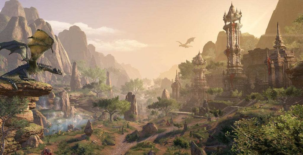 the elder scrolls online elsweyr scenic outlook