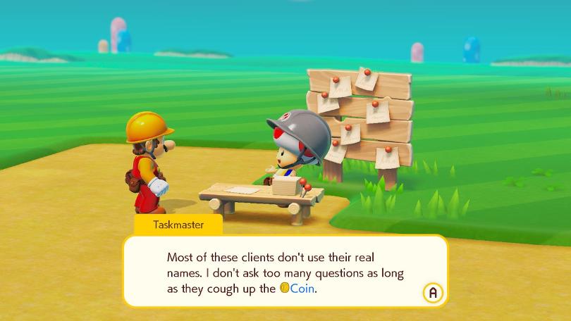 Super Mario Maker 2 kanske eller kanske inte insinuerar att Toad nyttjar mindre lagliga marknader.
