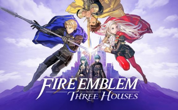 fire emblem three houses omslagsbild